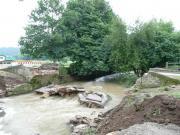 Zerstörte Starzelbrücke